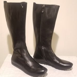 Bally Midlength Black Boots